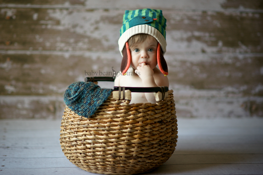Isaac in a Basket