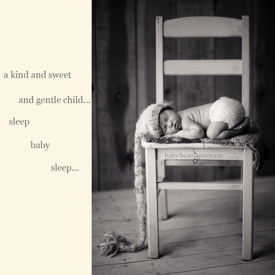 Sleep Baby Collage