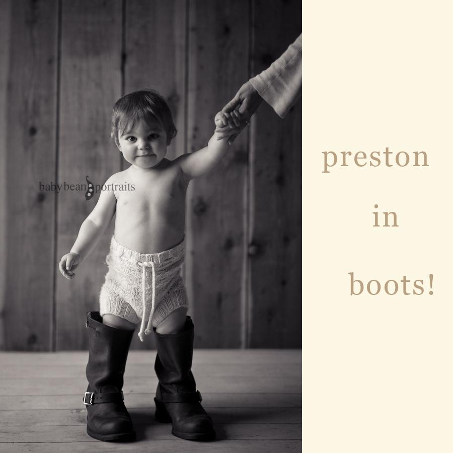 Preston in Boots